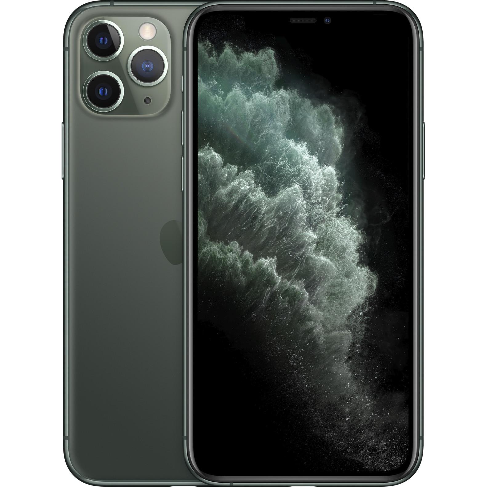 Fotografie Telefon mobil Apple iPhone 11 Pro, 512GB, Midnight Green