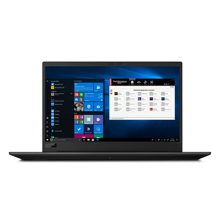 Лаптоп Lenovo ThinkPad P1 с Intel Core i7-9750H (2.60/4.50 GHz,12M), 16 GB, 512GB M.2 NVMe SSD, NVIDIA Quadro T1000 4 GB, Windows 10 Pro 64-bit, черен