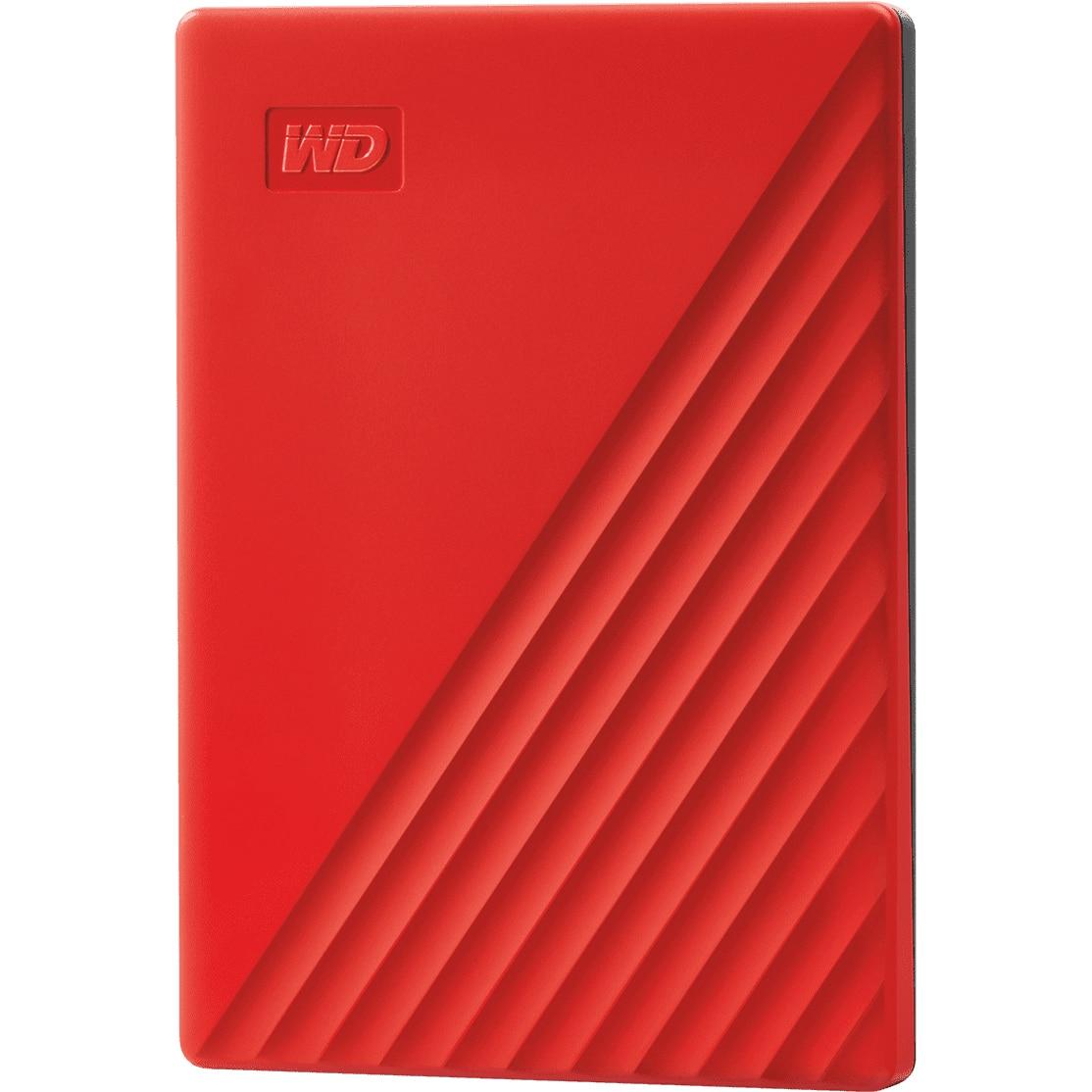 "Fotografie HDD extern WD My Passport 2TB, 2.5"", USB 3.2 Gen1, Rosu"
