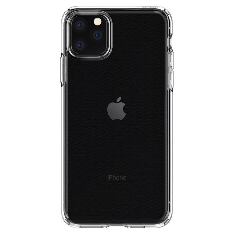 Fotografie Carcasa Spigen Liquid Crystal pentru iPhone 11 Pro, Crystal, Clear