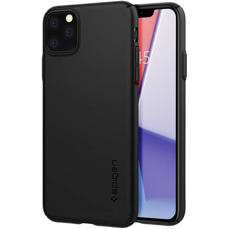 Fotografie Carcasa Spigen Thin Fit Air pentru iPhone 11 Pro, Black