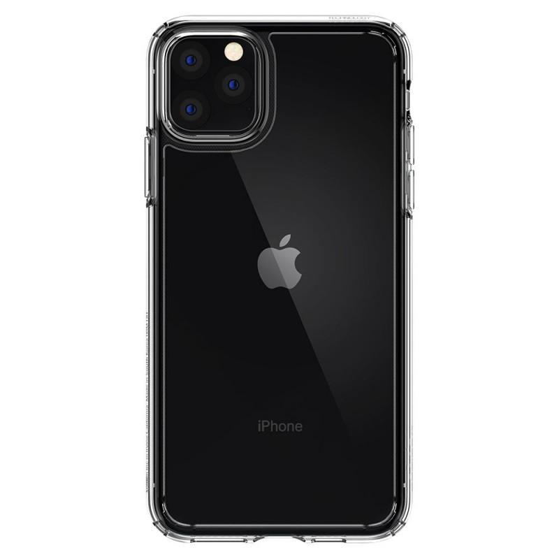 Fotografie Carcasa Spigen Ultra Hybrid pentru iPhone 11 Pro, Crystal, Clear