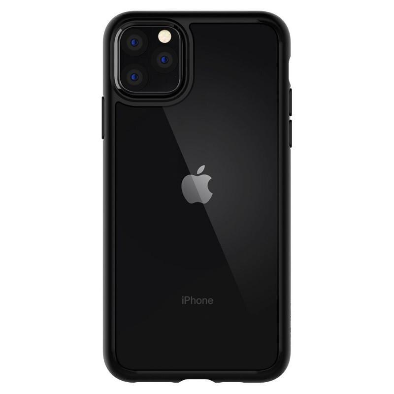 Fotografie Carcasa Spigen Ultra Hybrid pentru iPhone 11 Pro, Black