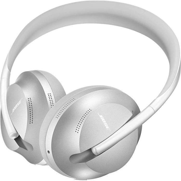 Fotografie Casti Audio Over the Ear Bose 700, Wireless, Bluetooth, Noise cancelling, Microfon, Autonomie 20 ore, Argintiu