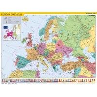 """STIEFEL, """"Európa országai/Európa gyerektérkép"""" kétoldalas könyökalátét"""