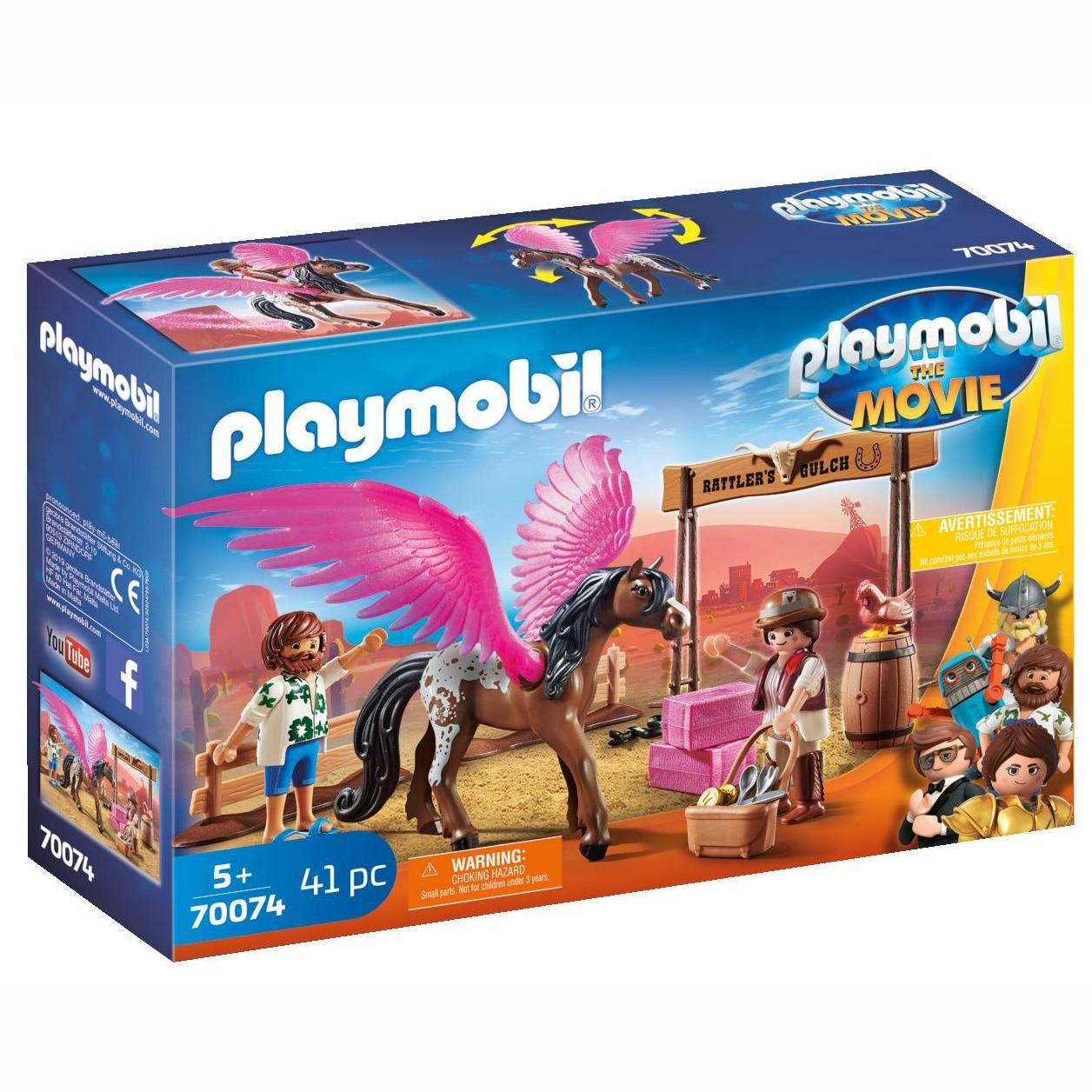 Fotografie Playmobil The Movie - Marla, Del si calul inaripat