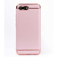 Луксозен кейс/калъф от 3 части за Huawei Honor 10, Case, Твърд, Високозащитен, Розово злато