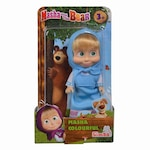 Кукла Masha and the Bear Colourful, Синя рокля