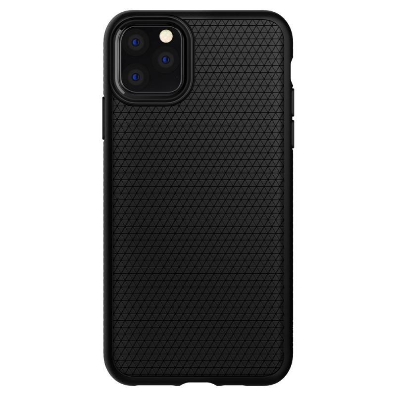 Fotografie Carcasa Spigen Liquid Air pentru iPhone 11 Pro, Black