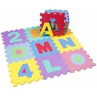covor puzzle alfabet