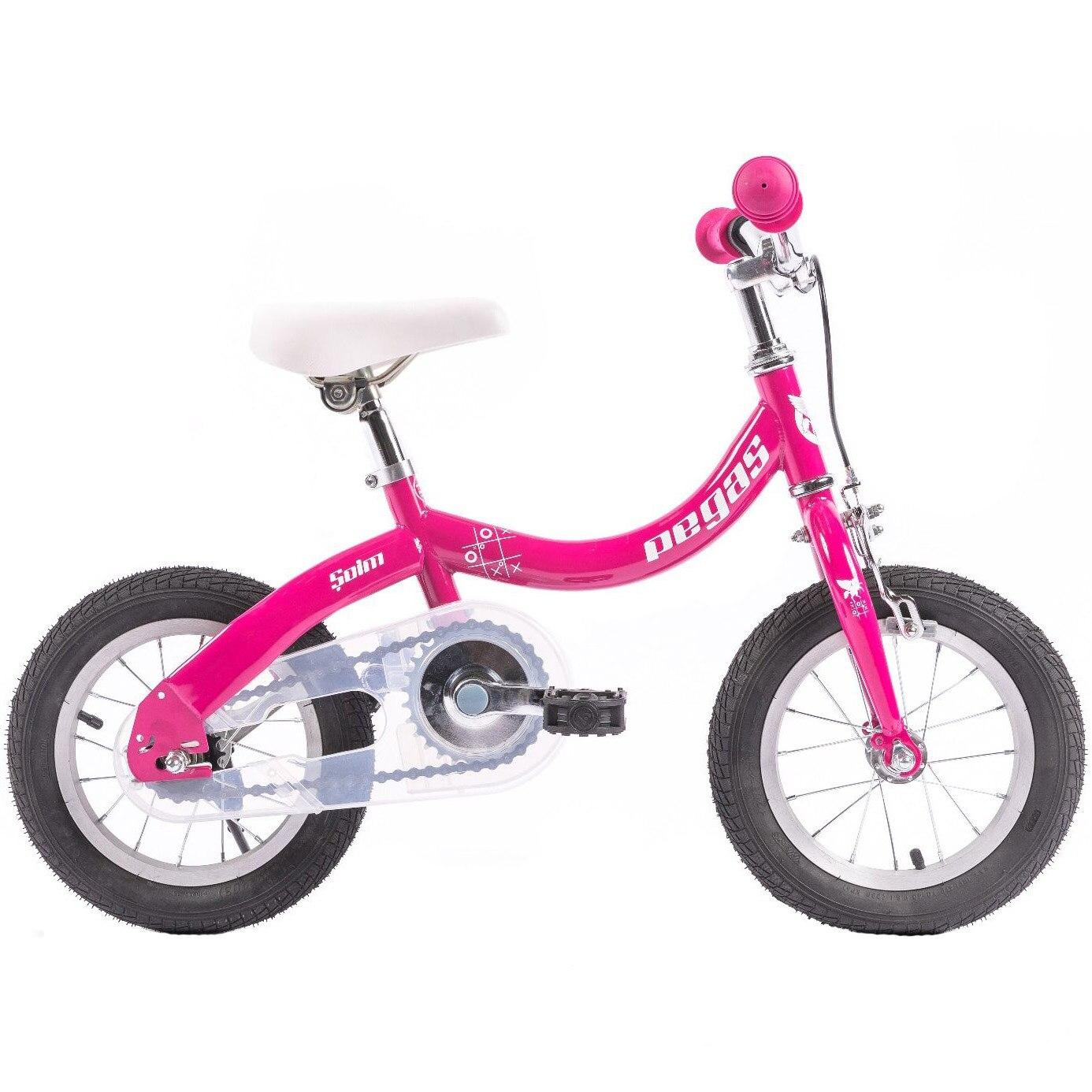"Fotografie Bicicleta Pegas Soim EV 12"", 2in1 pentru copii, Roz"