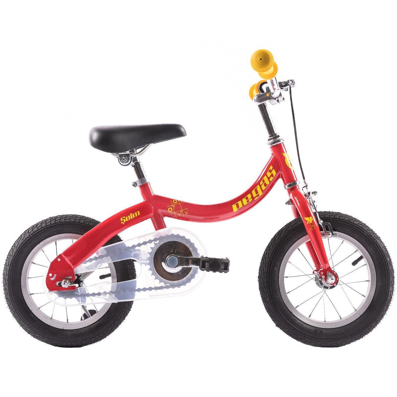 "Fotografie Bicicleta Pegas Soim EV 12"", 2in1 pentru copii, Rosu"