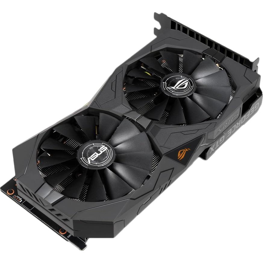 Fotografie Placa video ASUS GeForce® GTX 1650 ROG Strix O4G, 4GB GDDR5, 128-bit