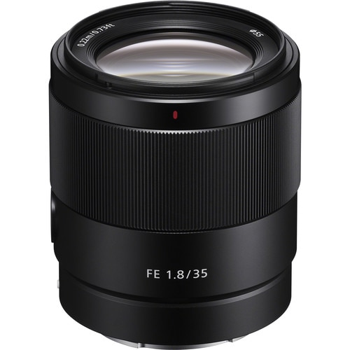 Fotografie Obiectiv Sony, montura FE, 35 mm, F1.8, Negru