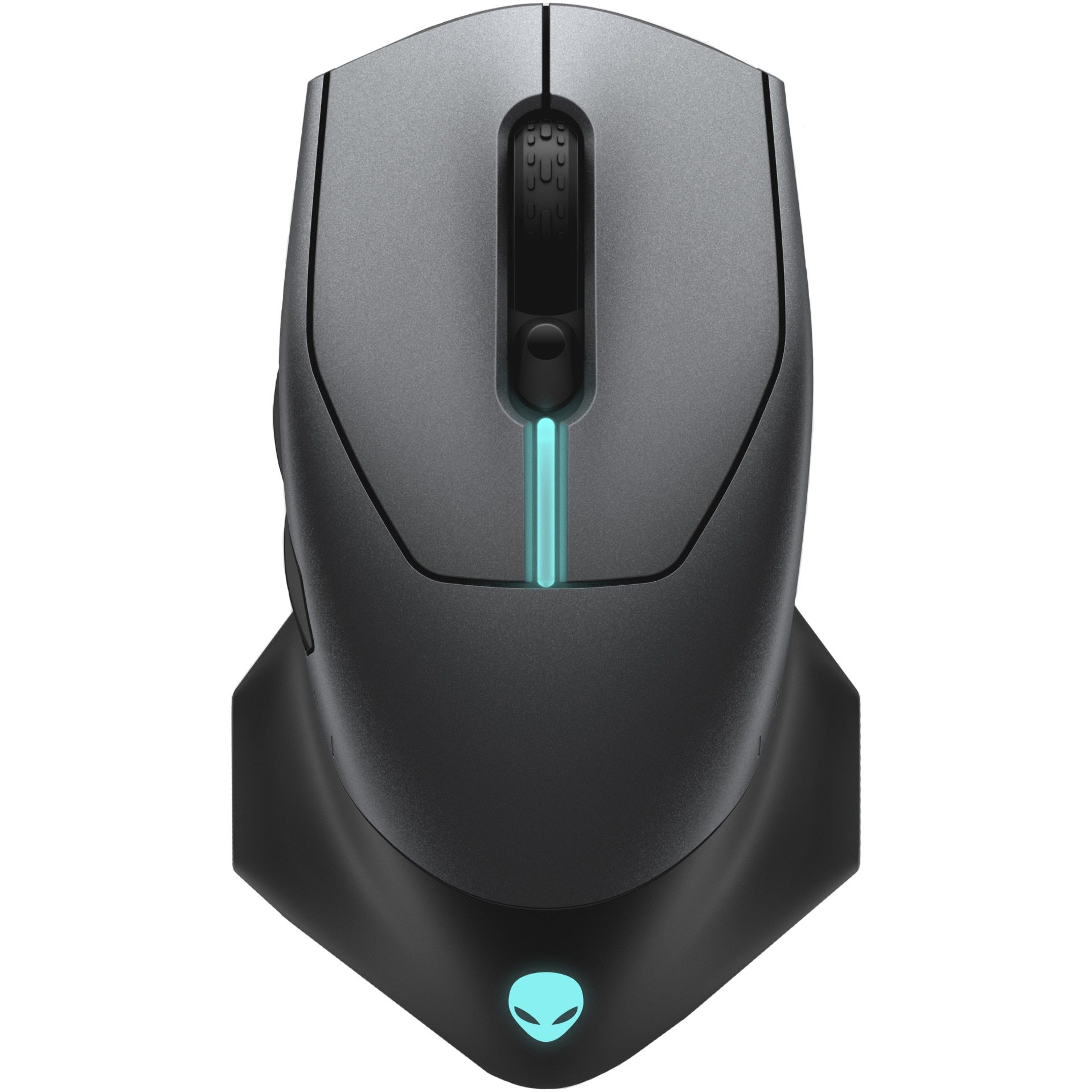 Fotografie Mouse gaming wireless Alienware 610M, Moon Grey
