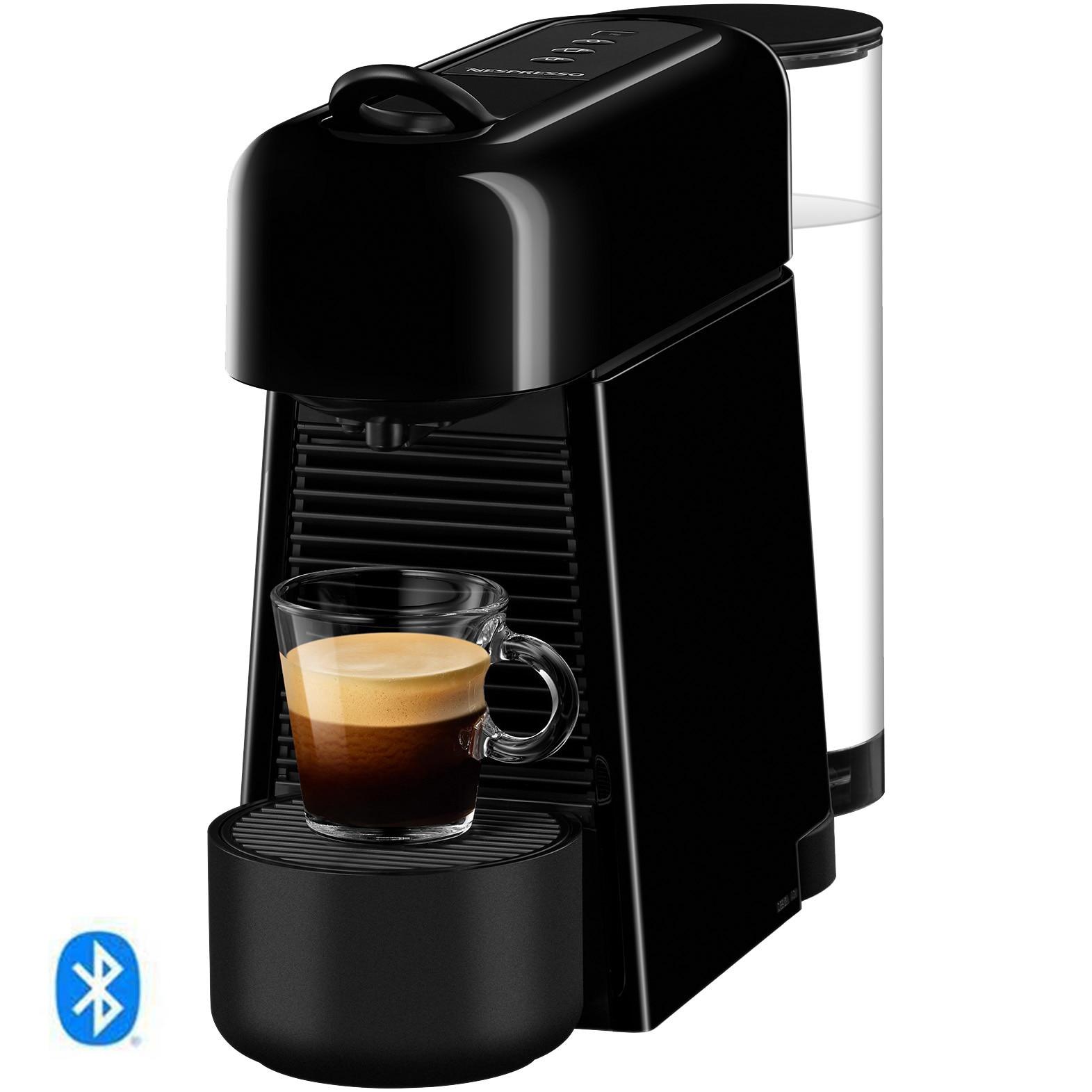 Fotografie Espressor Nespresso Essenza Plus D45, 1260 W, 19 bar, functie BLUETOOTH, 1 L, A+, Negru