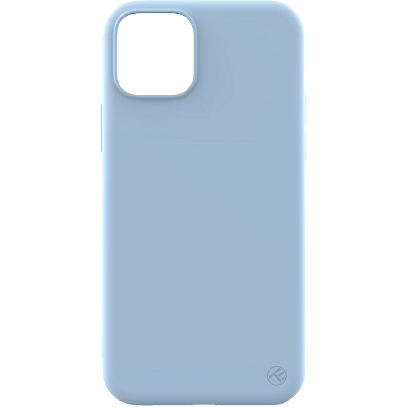 Fotografie Husa de protectie Tellur Soft Silicone pentru iPhone 11 Pro, Albastru deschis