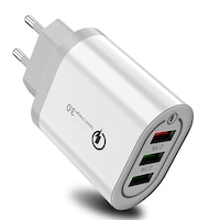 Incarcator 3x USB Ultra Fast Charge Qualcomm 3.0 cu Multiple Protectii - Original Deals
