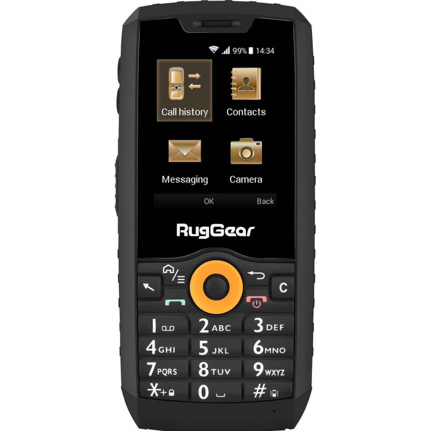 Fotografie Telefon mobil RugGear RG150, Dual SIM, 3G, Black