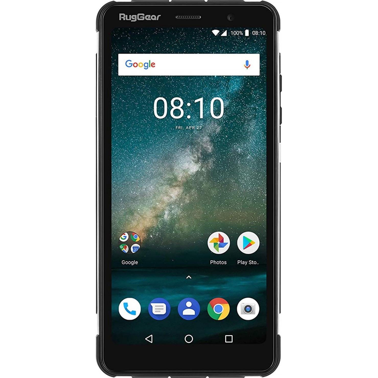 Fotografie Telefon mobil RugGear RG850, Dual SIM, 32GB, 4G, Black