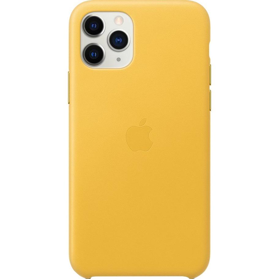 Fotografie Husa de protectie Apple pentru iPhone 11 Pro, Piele, Meyer Lemon