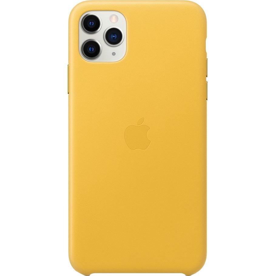 Fotografie Husa de protectie Apple pentru iPhone 11 Pro Max, Piele, Meyer Lemon