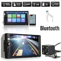 Мултимедия Automat 7010B, Bluetooth V2.0, 4x 60w, Автомобилен аудио,MP5 плейър, Black