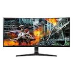 """Монитор Gaming LG 34"""", IPS, Извит, UltraWide Full HD, 144Hz, Display Port, G-Sync, Черен, 34GL750-B"""