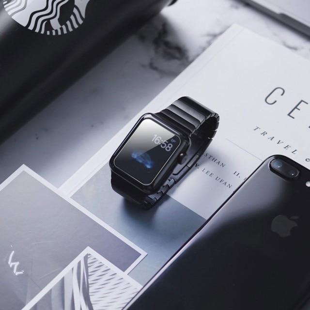 Képernyővédő fólia iUni Smartwatch Apple Watch 44mm átlátszó