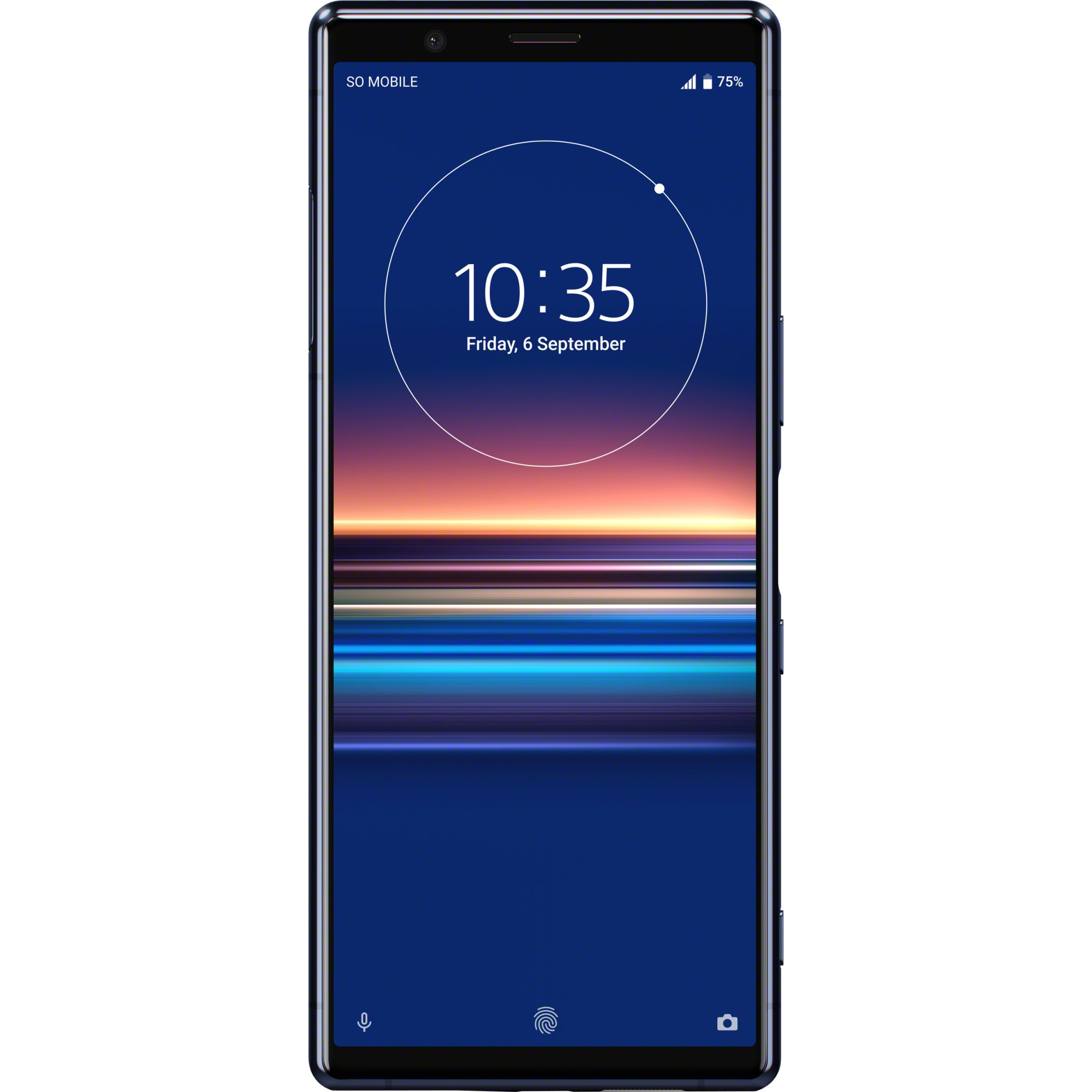 Fotografie Telefon mobil Sony Xperia 5, Dual SIM, 128GB, 6GB RAM, 4G, Blue