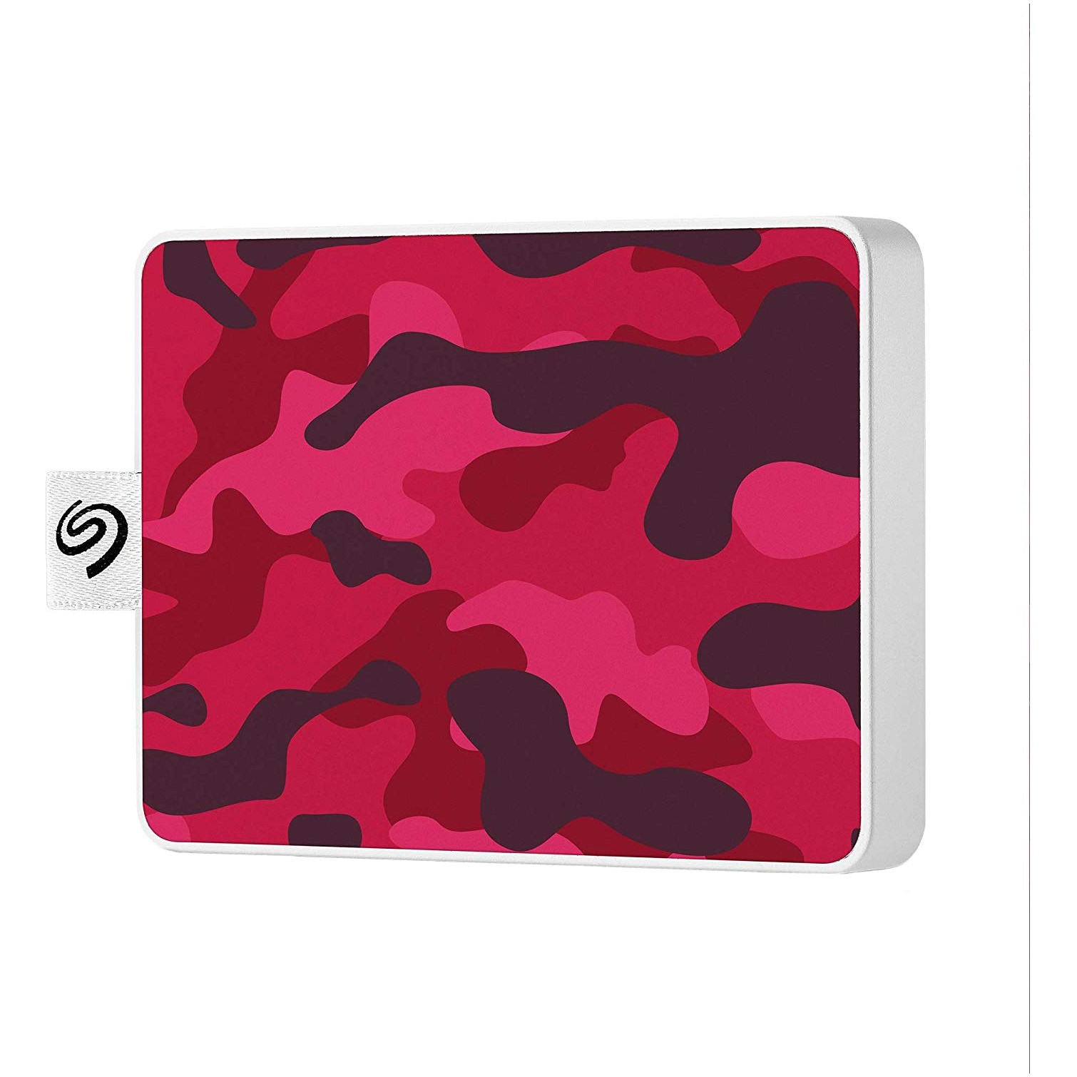 Fotografie SSD Extern Seagate One Touch 500GB, USB 3.0, Special Edition Camo Rosu