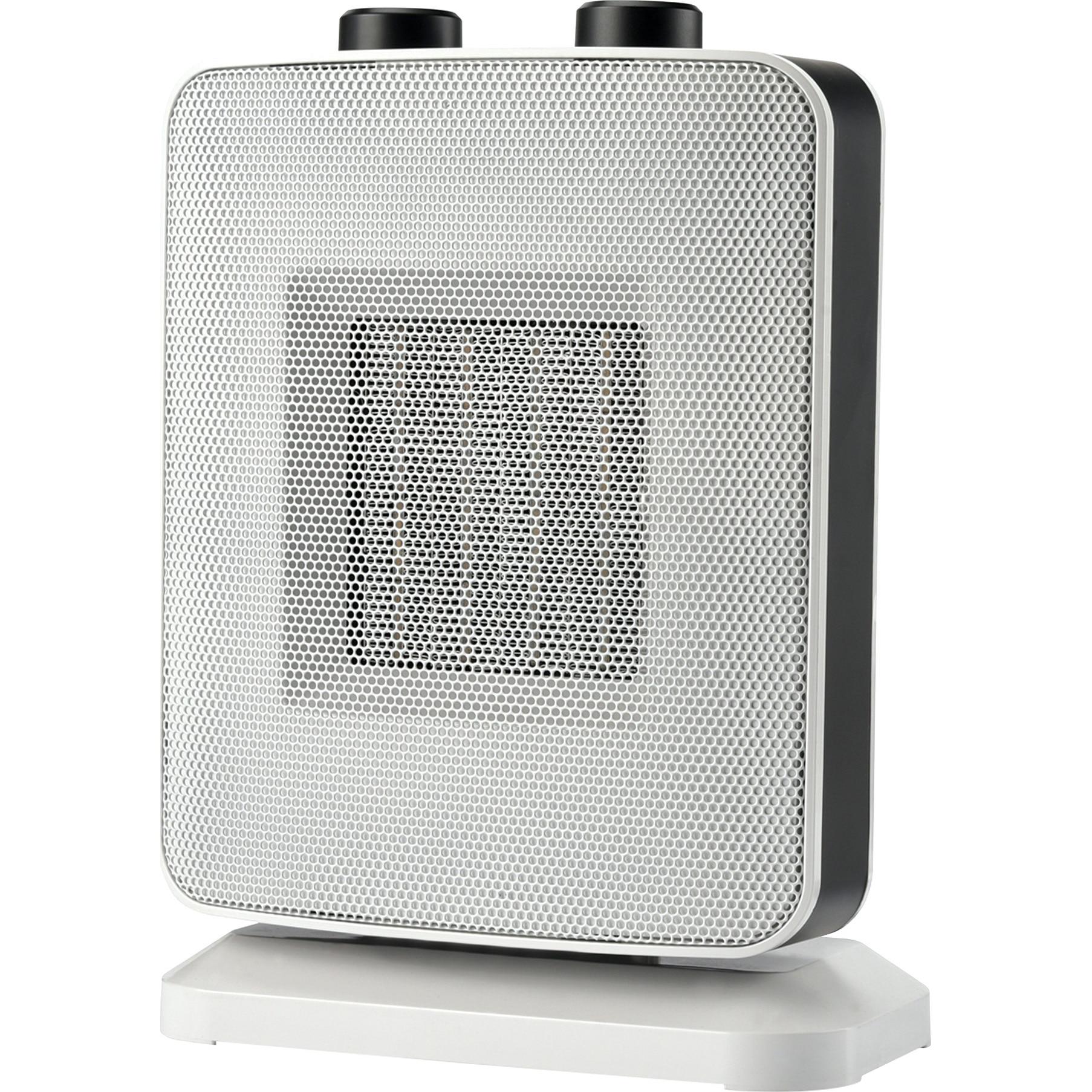 Fotografie Aeroterma ceramica Heinner HCH-L1500WH, 1500 W, 2 trepte de putere, termostat reglabil, Alb