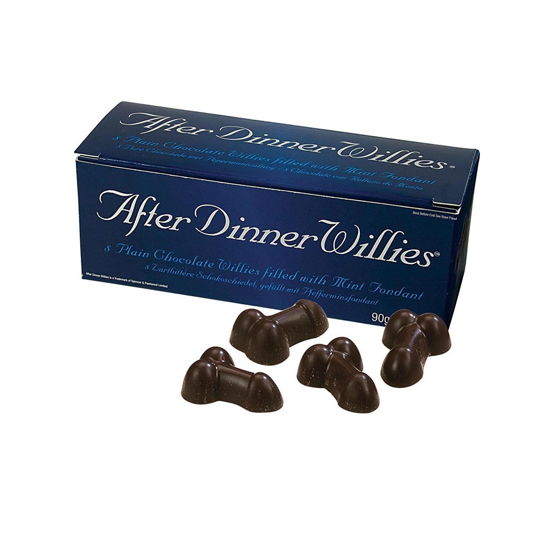 ciocolată în formă de penis)