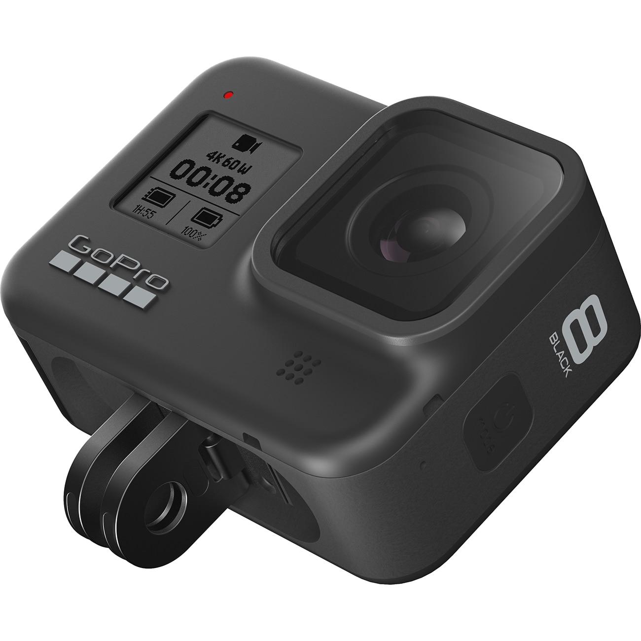 Fotografie Camera video sport GoPro HERO8, 4K, GPS, Black Edition + Card memorie 32GB