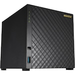 Network Attached Storage Asustor (AS1004Tv2), New Marvell ARMADA-385 Dual Core, 512MB DDR3, GbE x1, USB 3.1 Gen-1, 4 bay Tower NAS