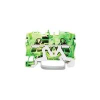 Clema rand Wago TOPJOB®S 1 intrare/1 iesire, 4 mm², galben-verde