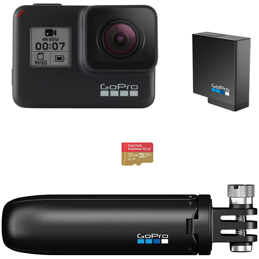 Fotografie Camera video sport GoPro Hero7 Black Bundle