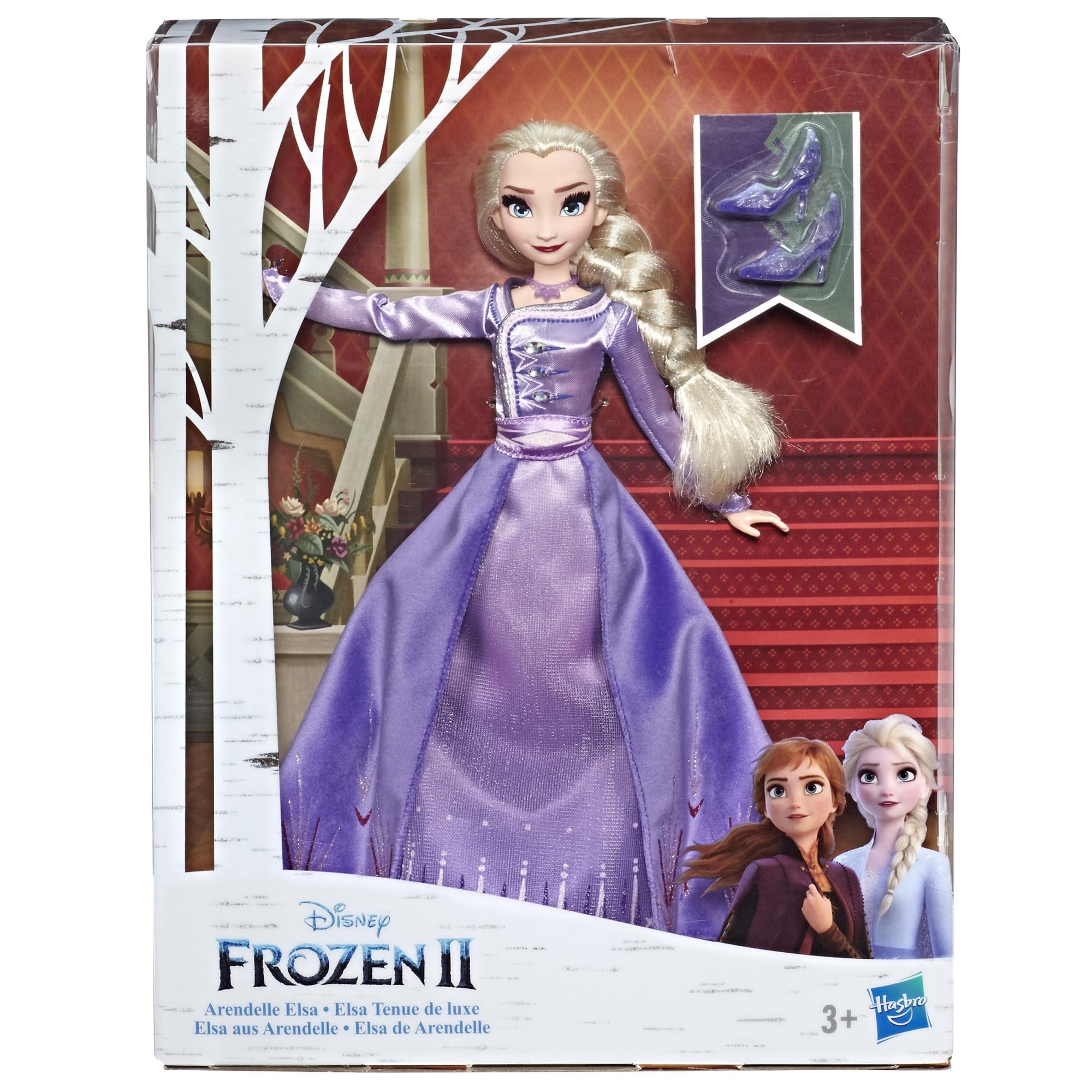 Fotografie Papusa Disney Frozen II - Elsa din Arendelle
