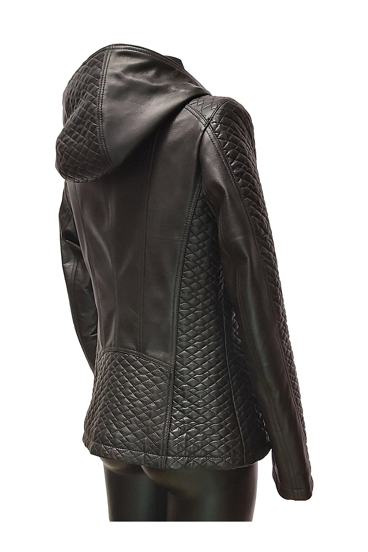 Sly Classic női bőrdzseki, fekete Réka 42 eMAG.hu