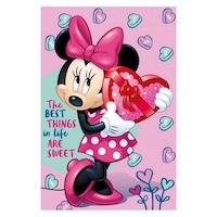 Disney Minnie polár takaró ajándék 100x150cm