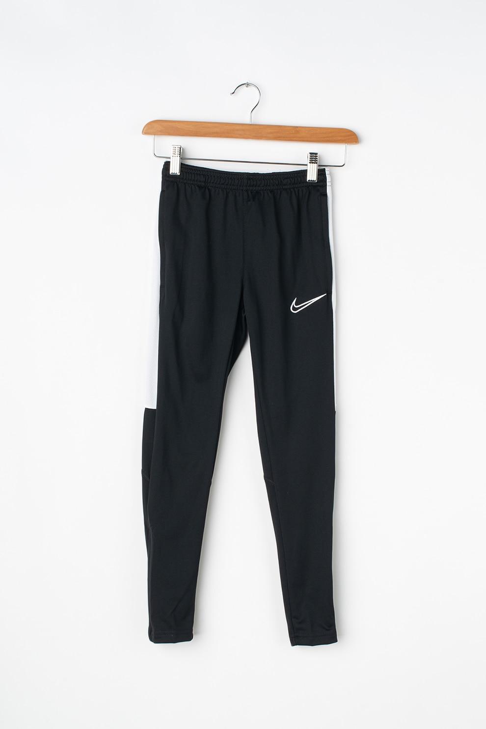 Intestinos Espacioso soltar  Nike, Pantaloni pentru fitness, realizati cu Dri-Fit, Negru/Alb, XS -  eMAG.ro