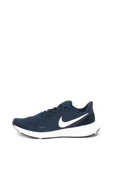 Nike, Плетени спортни обувки Revolution 5, Тъмносин