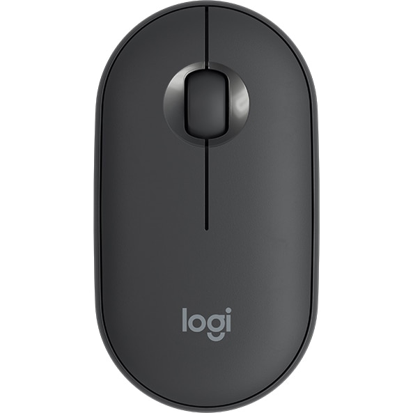Fotografie Mouse wireless Logitech Pebble M350, Grafit