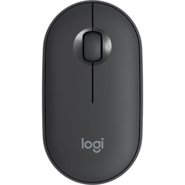 Fotografie Mouse wireless Logitech Pebble M350, Grafit