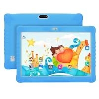 10.1 инча детски таблет Sannuo, quad core, Android, 16GB, детски център, цвят син