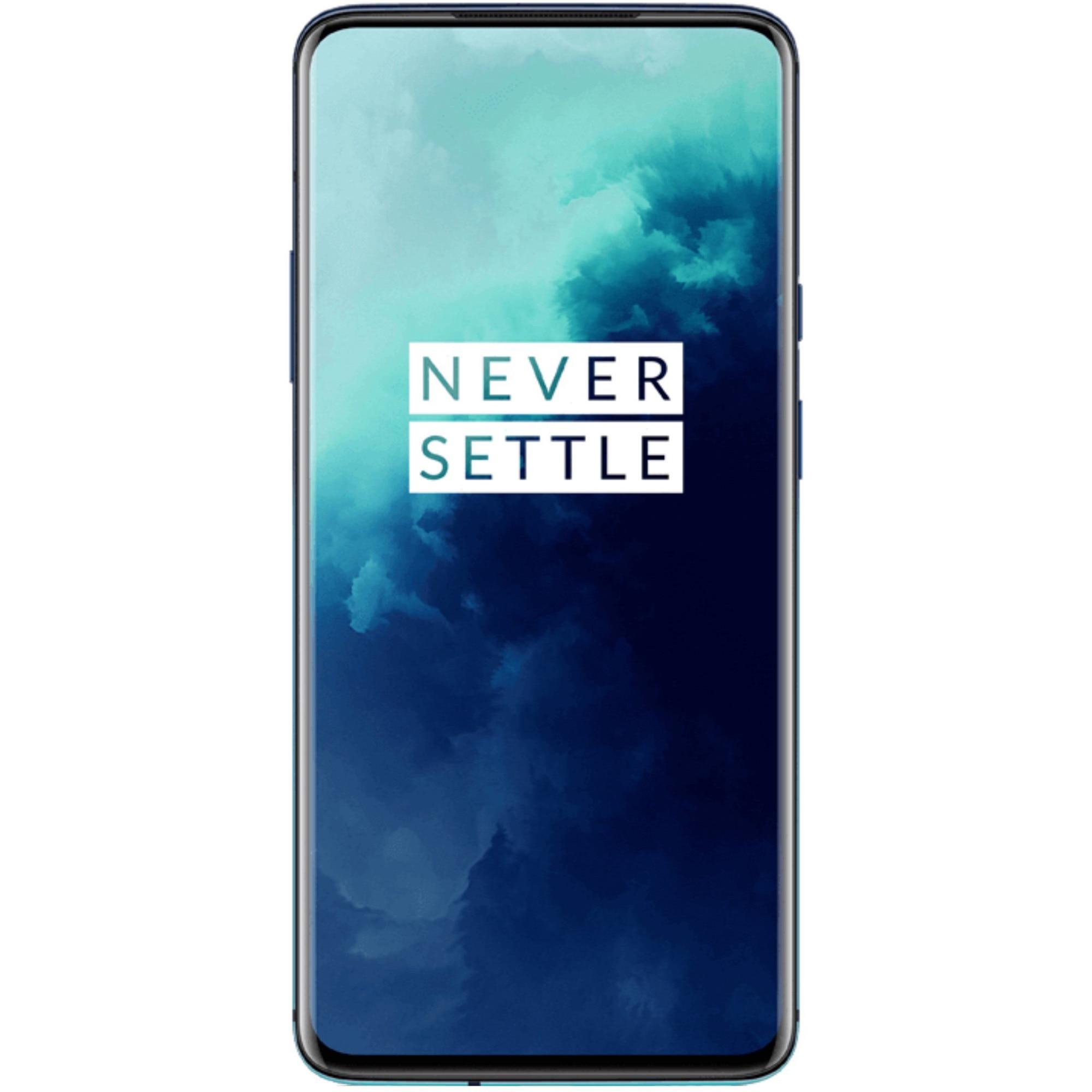 Fotografie Telefon mobil OnePlus 7T Pro, Dual SIM, 256GB, 8GB RAM, Haze Blue