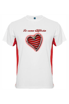 Мъжка тениска Алфист , onlinemarket , бял , S