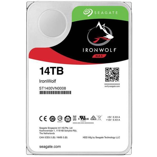 Fotografie HDD Seagate IronWolf NAS, 14TB, 7200rpm, 256MB cache, SATA-III
