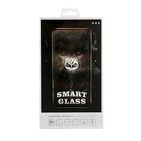 Стъклен протектор Smart Glass, 5D, за Apple iPhone 6/iPhone 6s, Безцветен/Черен