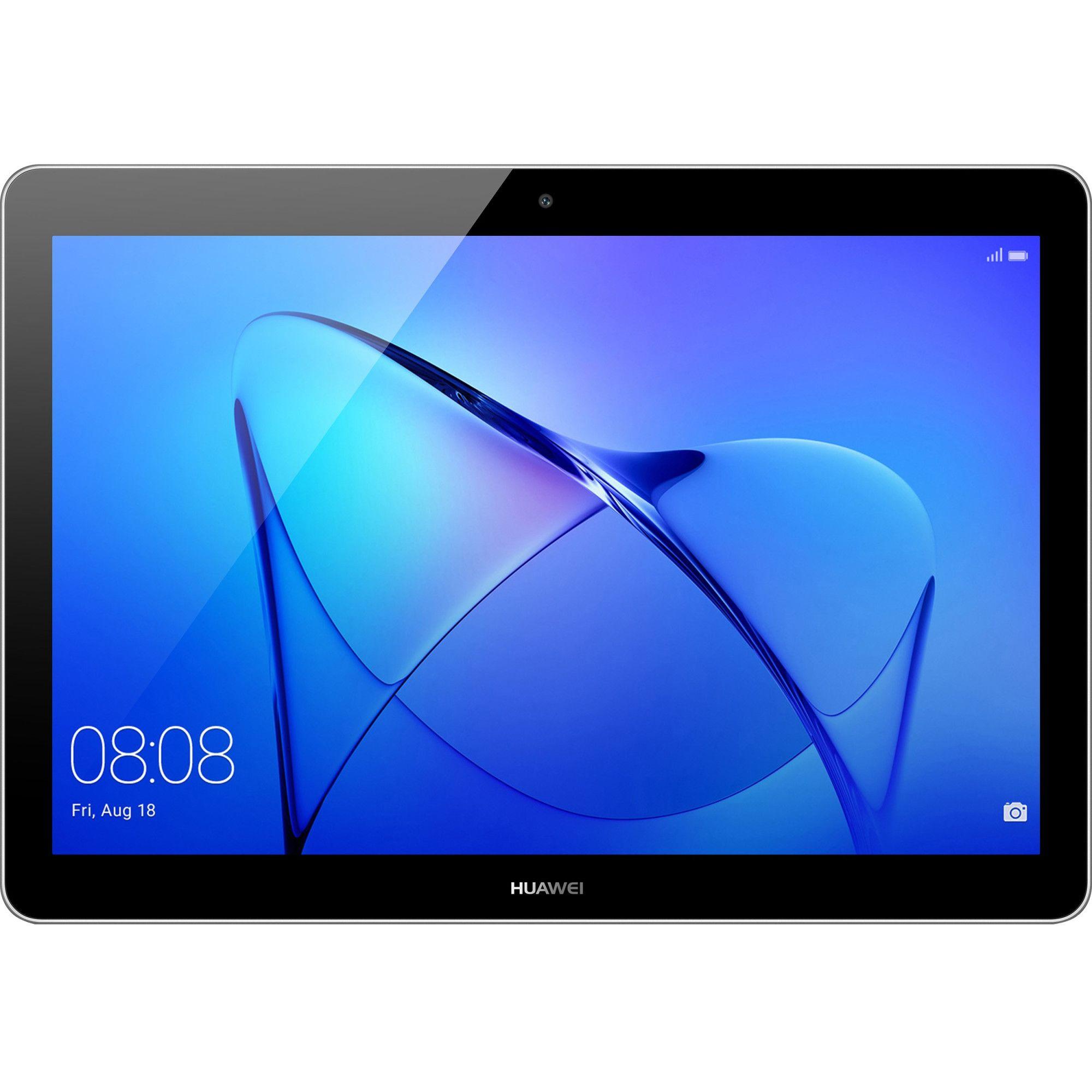 """Fotografie Tableta Huawei MediaPad T3 10, Quad Core, 9.6"""", 2GB RAM, 32GB, 4G, Space Gray"""